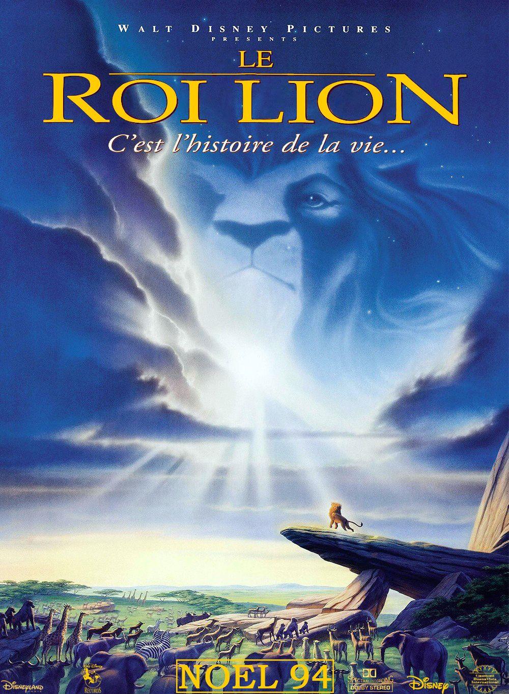Affiches posters et images de le roi lion 1994 - Voir le roi lion ...
