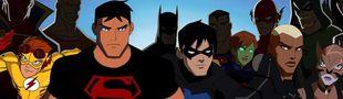 Cover DC Comics: Les séries animées