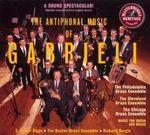 Pochette The Antiphonal Music of Gabrieli