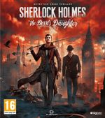 Jaquette Sherlock Holmes: The Devil's Daughter