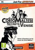 Jaquette Corto Maltese : Secrets de Venise