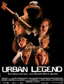 Affiche Urban Legend