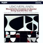 Pochette Mouvements circulaires en douceur / String Quartets nos. 1 & 2