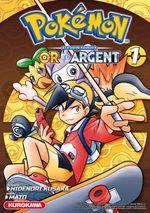 Couverture Or et Argent - Pokémon : La Grande Aventure, tome 1