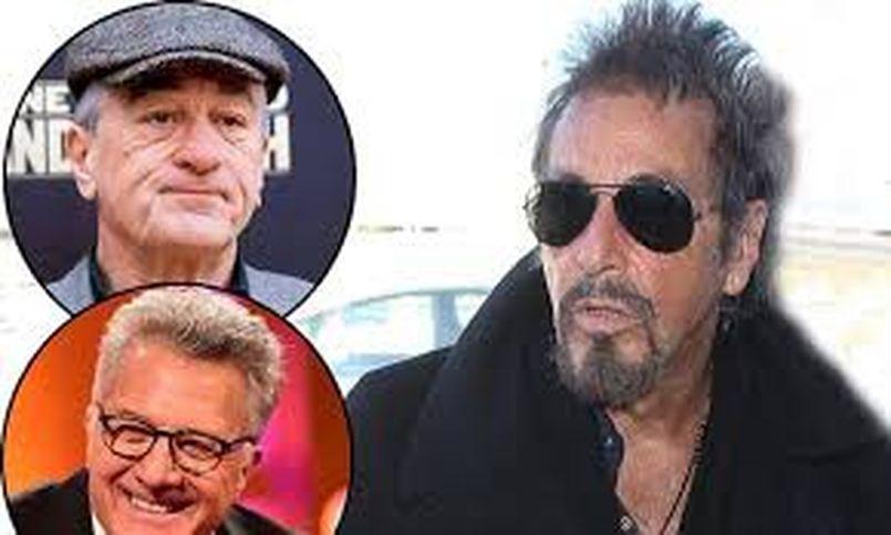 Illustration Votre choix : Robert De Niro vs Al Pacino vs Dustin Hoffman