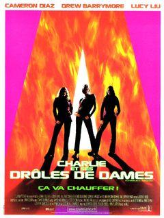Affiche Charlie et ses Drôles de Dames