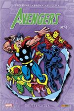 Couverture 1974 - The Avengers : L'Intégrale, tome 11