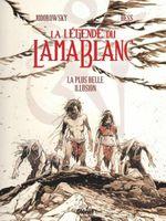 Couverture La plus belle illusion - La légende du Lama blanc, tome 2
