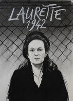 Affiche Laurette 1942, une volontaire au camp du Récébédou