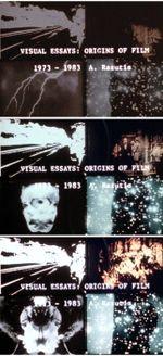 Affiche Visual essays: origins of film