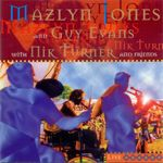 Pochette Mazlyn Jones and Guy Evans with Nik Turner and Friends Live (Live)