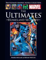 Couverture The Ultimates : Sécurité Intérieure - Marvel Comics La collection (Hachette), tome 53