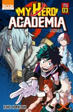 Couverture My Hero Academia, tome 3