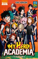 Couverture My Hero Academia, tome 4