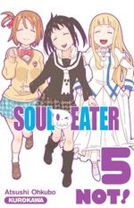 Couverture Soul Eater Not !, tome 5