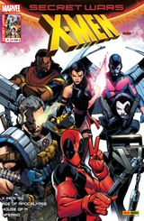 Couverture Manipulations - Secret Wars : X-Men, tome 3