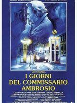 Affiche I giorni del commissario Ambrosio