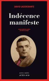 Couverture Indécence manifeste