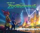 Couverture The Art of Zootopia