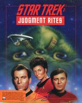 Jaquette Star Trek : Judgement Rites