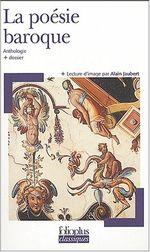 Couverture La poésie baroque