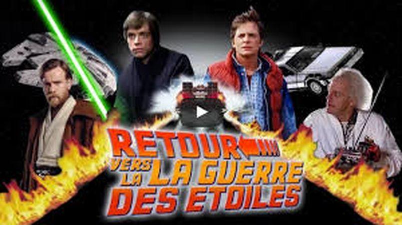 Illustration Star Wars vs Retour vers le futur
