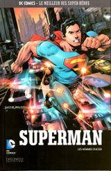 Couverture Superman : Les Hommes d'acier - DC Comics, Le Meilleur des Super-Héros, tome 9