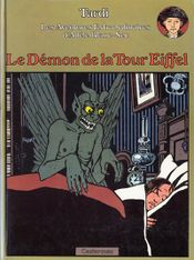 Couverture Le Démon de la tour Eiffel - Adèle Blanc-Sec, tome 2