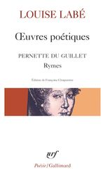 Couverture Oeuvres poétiques - Rymes