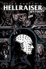 Couverture Hellraiser Bestiary