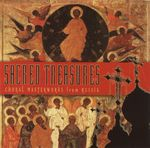 Pochette Sacred Treasures: Choral Masterworks from Russia