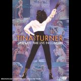 Affiche Tina Turner One last time live in concert
