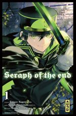 Couverture Seraph of the End, tome 1