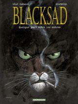 Couverture Quelque part entre les ombres - Blacksad, tome 1