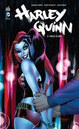 Couverture Folle à lier - Harley Quinn, tome 2