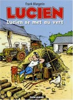 Couverture Lucien se met au vert - Lucien, tome 5