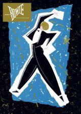 Affiche David Bowie Serious Moonlight