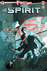 Couverture First Wave - The Spirit, tome 3