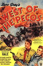 Affiche A l'Ouest du Pecos