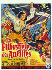 Affiche La Flibustière des Antilles