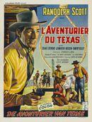 Affiche L'Aventurier du Texas
