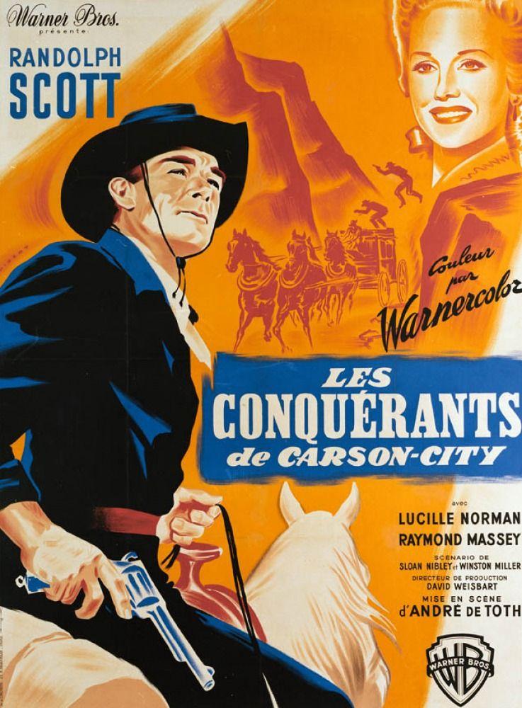 les conqu233rants de carson city film 1952 senscritique