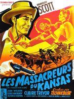 Affiche Les Massacreurs du Kansas