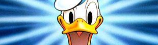 Cover (Top) Les cartoons Donald Duck