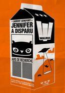 Couverture Jennifer a disparu