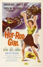 Affiche Hot Rod Girl