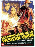 Affiche Les Pionniers de la Western Union