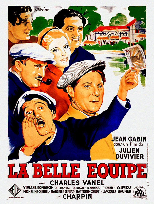 Votre dernier film visionné - Page 20 La_Belle_Equipe