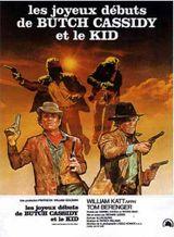 Affiche Les Joyeux Débuts de Butch Cassidy et le Kid