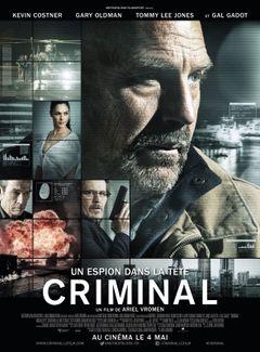 Affiche Criminal : Un espion dans la tête